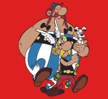 Asterix Obelix Cartoon Funny 2 Kids Clothes