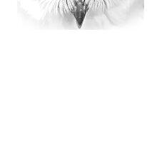 White Owl iPhone 6 case by PartisanArtisan