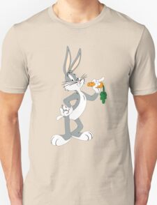 Bugs Bunny Looney Tunes Cartoon Funny 2 T-Shirt