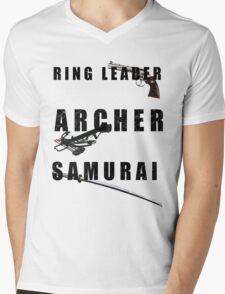 Ring Leader, Archer, Samurai Mens V-Neck T-Shirt