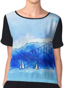 San Francisco Harbor Chiffon Top