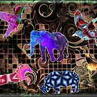 Animals on Parade by blacknight