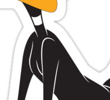 Daffy Duck Cartoon Funny 2 Sticker