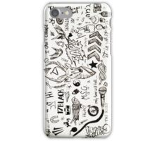 One Direction Tattoos iPhone Case iPhone Case/Skin