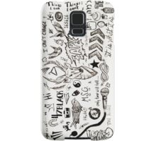 One Direction Tattoos iPhone Case Samsung Galaxy Case/Skin
