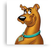 Scooby Doo Smooth Canvas Print
