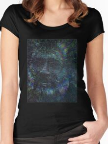 Terence McKenna Tribute Poster 02 Women's Fitted Scoop T-Shirt