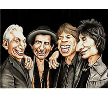 Old Rockers - Gimme Shelter Photographic Print
