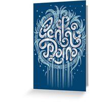 Genki Dama Greeting Card
