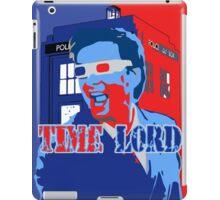 Police Public Call Box Time Lords Obama Hope Style iPad Case/Skin