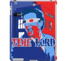 Police Public Call Box Time Lords Obama Hope Style iPad Case/Skin