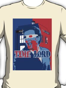 Police Public Call Box Time Lords Obama Hope Style T-Shirt