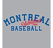 Montreal Baseball Photographic Print