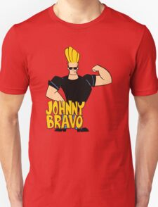 Johnny Bravo Cartoon Funny T-Shirt
