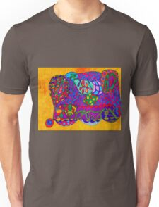 A Decorated Decoration Pusher and Collector Unisex T-Shirt
