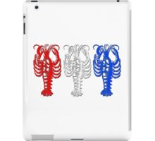 Patriotic Lobsters iPad Case/Skin