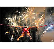 Carnival Jumper Photographic Print