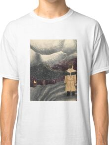 Castiel Looking Down from Heaven  Classic T-Shirt