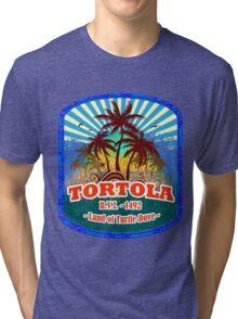 Paradise Island Tortola  Tri-blend T-Shirt