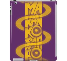 Makankosappo iPad Case/Skin