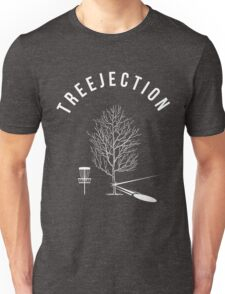 Funny Disc Golf Treejection Unisex T-Shirt