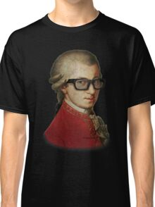 Funny Happy Hipster Mozart Classic T-Shirt
