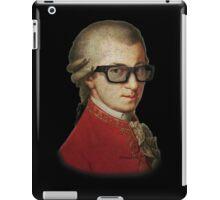 Funny Happy Hipster Mozart iPad Case/Skin
