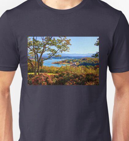Douglas Dam And Reservoir   Unisex T-Shirt