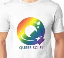 Queer sci-fi || L G B Q I A society Unisex T-Shirt