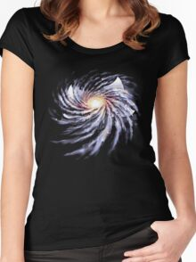 Spacetime Story Women's Fitted Scoop T-Shirt