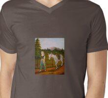 A Peaceful Walk Mens V-Neck T-Shirt