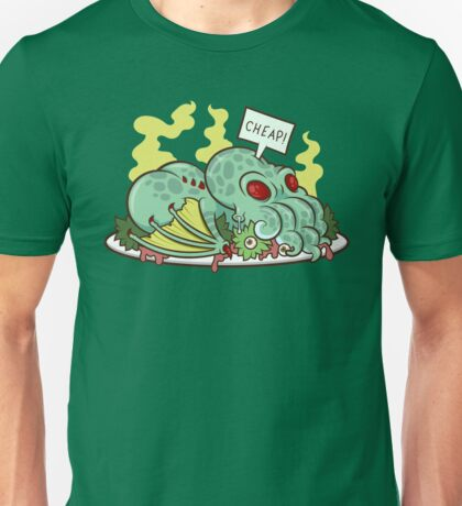 Cthulhu Dinner II Unisex T-Shirt