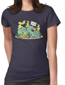 Cthulhu Dinner II Womens Fitted T-Shirt