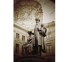 Governor Statue Photographic Print