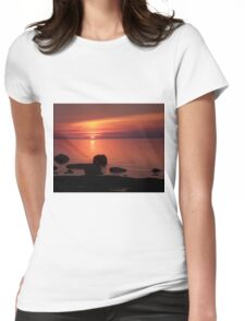 Peaceful Reflections  Womens Fitted T-Shirt