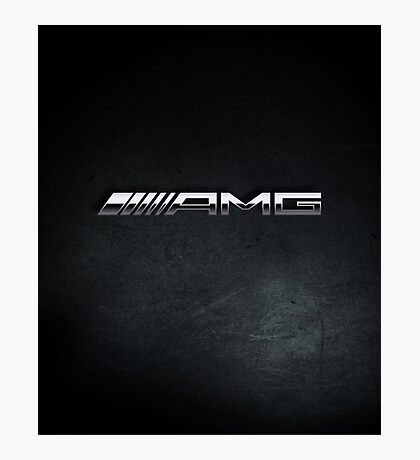 AMG chrome Photographic Print