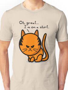 Grumpy cat on shirt Unisex T-Shirt
