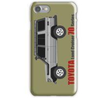 TOYOTA Land Cruiser 70 Series HZJ77 (side) iPhone Case/Skin
