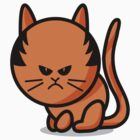 A grumpy cat by Richard Eijkenbroek