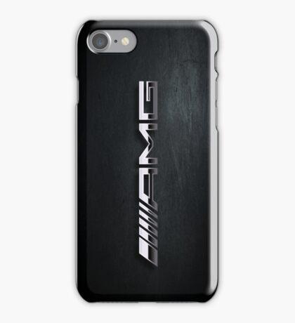 AMG chrome iPhone Case/Skin