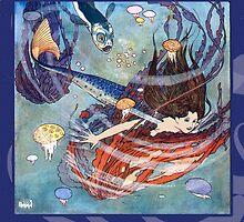 Edmund Dulac The Mermaid by Greenbaby