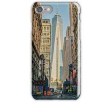 New York city road street buildings iPhone Case/Skin
