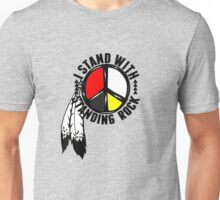 standing with standing rock Unisex T-Shirt