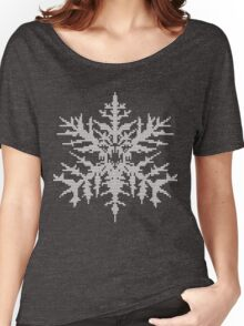 D.W. Evil Snowflake - Knitted Women's Relaxed Fit T-Shirt