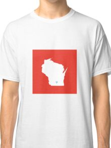 Wisconsin Love Classic T-Shirt