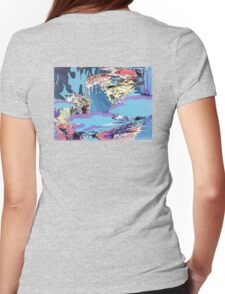 Design 018 Womens Fitted T-Shirt