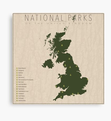 UK Parks Canvas Print