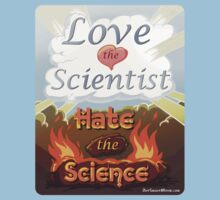 "Love the Scientist, Hate the Science | from the short film ""Out Smart"" Kids Clothes"