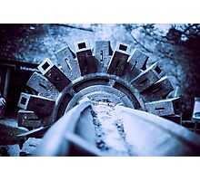 Turning Wheel Photographic Print