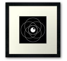 Erudite Eye - White Framed Print
